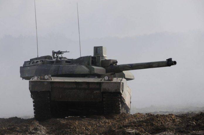 AMX-49 Leclerc del Armée de Terre francés.