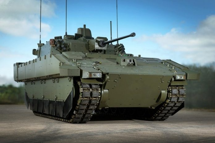General Dynamics Ajax SV . Imagen: Patrick Olner;