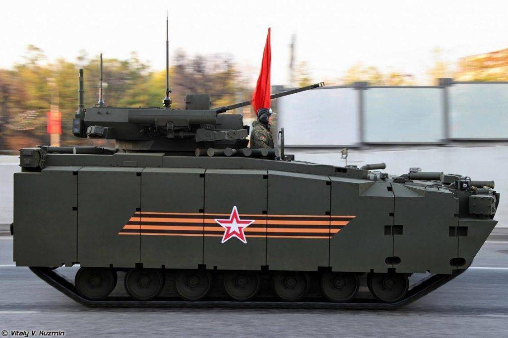 Kurganets versión Transporte de Tropas (Objecy 693). Imagen: Vitaly Kuzmin.