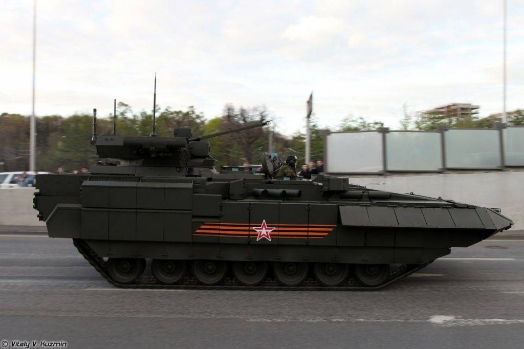 T-15 Armata perfil