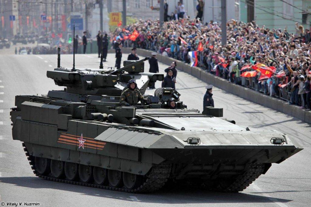 T-15 desfile .