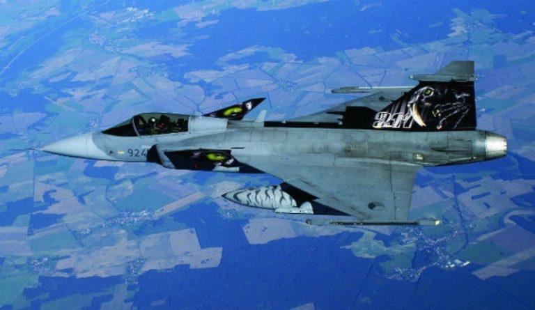 Republica Checa actualiza su flota de Saab Gripen
