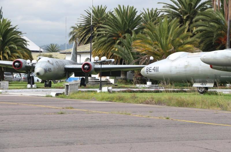 Mk-6 en exhibición en el Museo Aeronáutico y del Espacio de la FAE en Quito. Imagen: PJ Hutt.