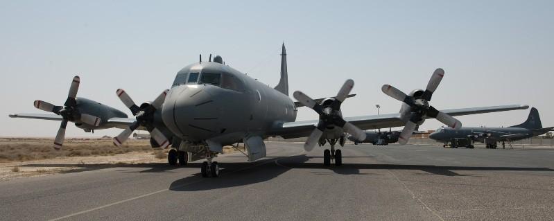 CP-140M Aurora desplegado en Iraq durante la operación Impact. Imagen: RCAF.