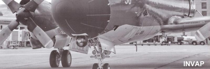 SADI montado en un P-3B Orion del COAN. Imagen: INVAP.