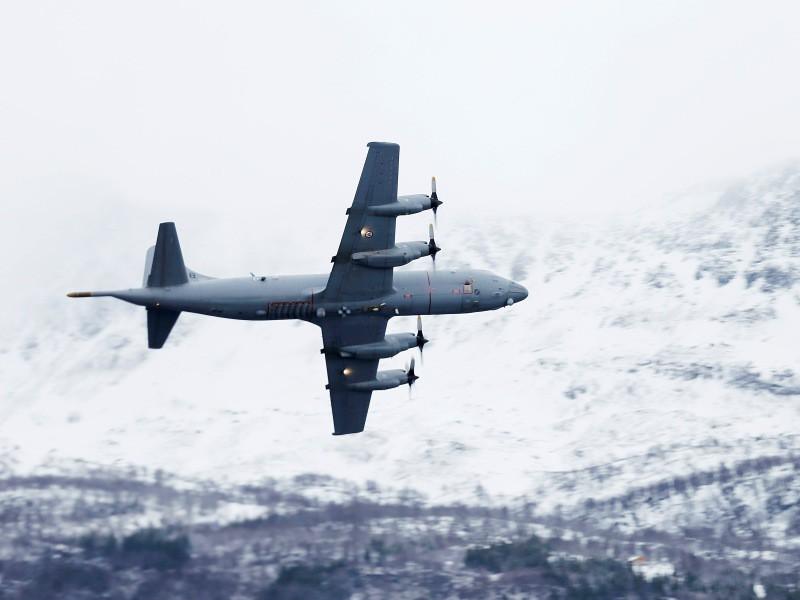 P-3 Orion noruego durante su participación en el ejercicio Cold Response 2014. Imagen: Forsvaret.