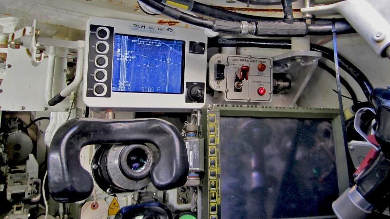Nuevas pantallas pertenecientes al AIDATS. Imagen: USMC.