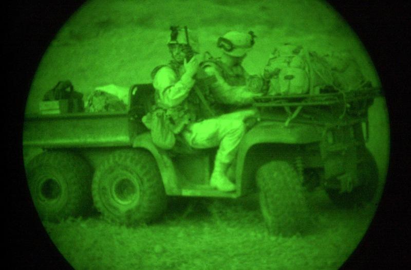 ATV John Deere Gator utilizado en Afganistán. Imagen: US Army.