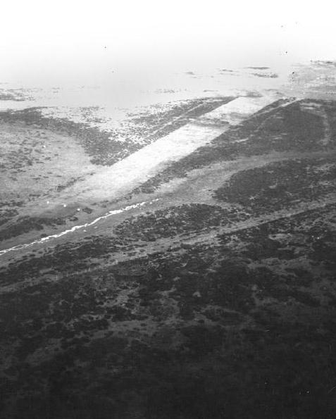 Dunnose Head airstrip. Imagen - RAF.