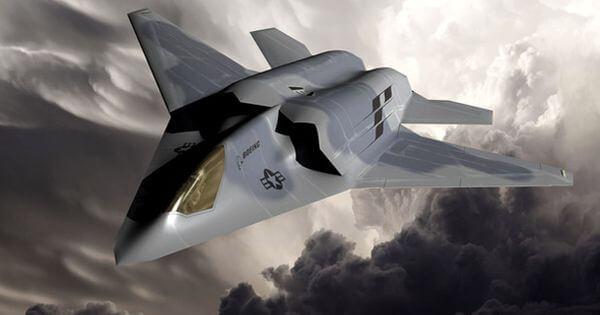 Este era el concepto previo de Boeing para un caza de sexta generación, muy diferente al recientemente presentado