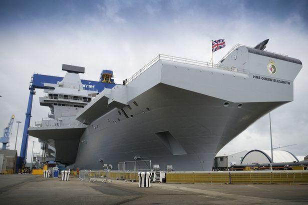 La Royal Navy planea reforzar sus capacidades navales. JS72184285