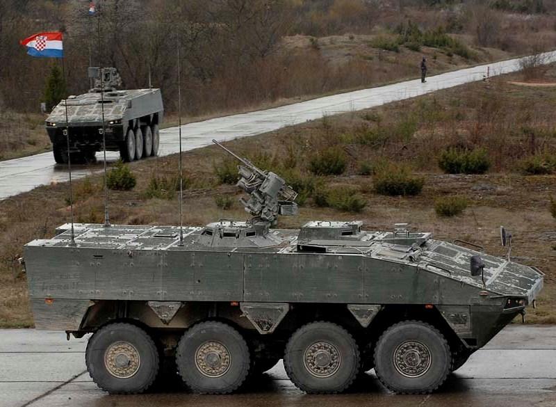 VCBR AMV croata producido localmente por la firma Đuro Đaković. Imagen: Đuro Đaković