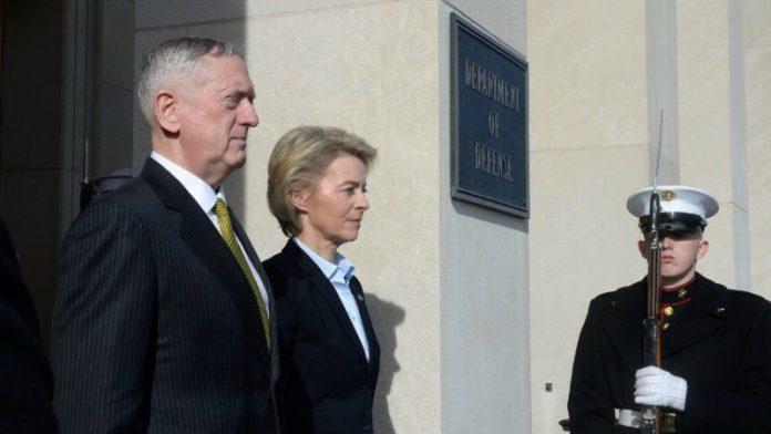 Alemania redefine su politica de seguridad nacional. - Página 2 Mattis_-von-der-Leyen--696x392