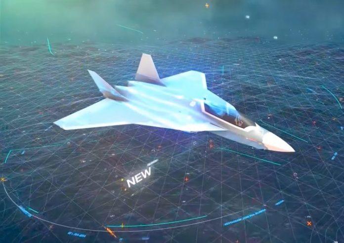 Future Combat Air System (FCAS) caza furtivo sexta generación franco-alemán. DbtcMV7XkAI9z52-1-750x530-696x492