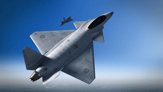 Reino Unido mantiene conversaciones con Suecia sobre un caza de 6ta generación. Swedishconcept1-696x395