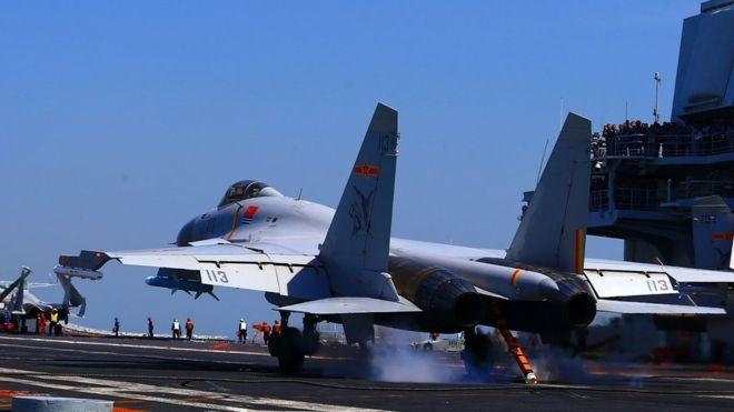 China 'entrena para atacar' objetivos estadounidenses