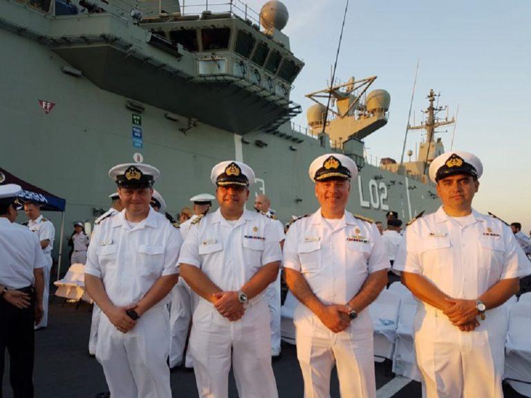 La Armada chilena participó en el ejercicio naval «Kakadu 2018»