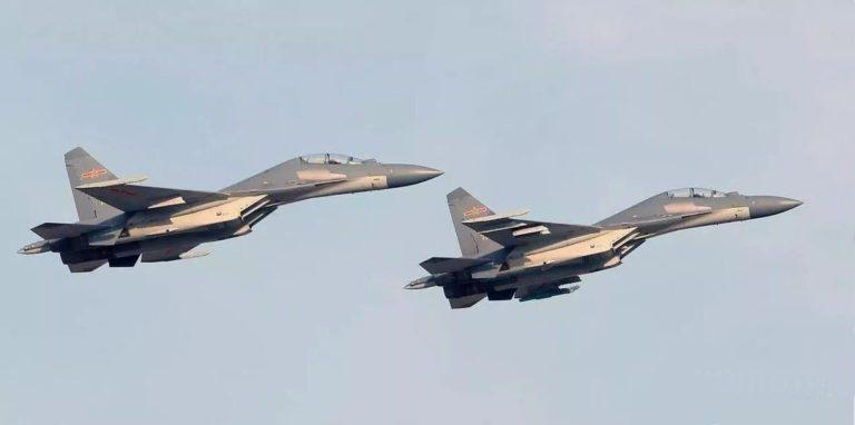 La fuerza aérea de China incorpora discretamente nuevos cazabombarderos J-16