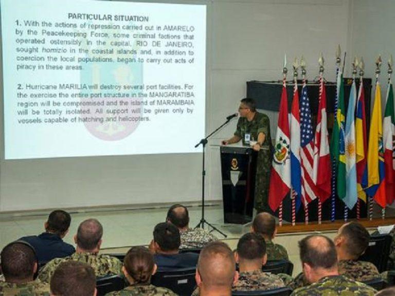 La Fuerza de Infantería de la Marina de Brasil organiza el ejercicio naval UNITAS Amphibious 2018/2019