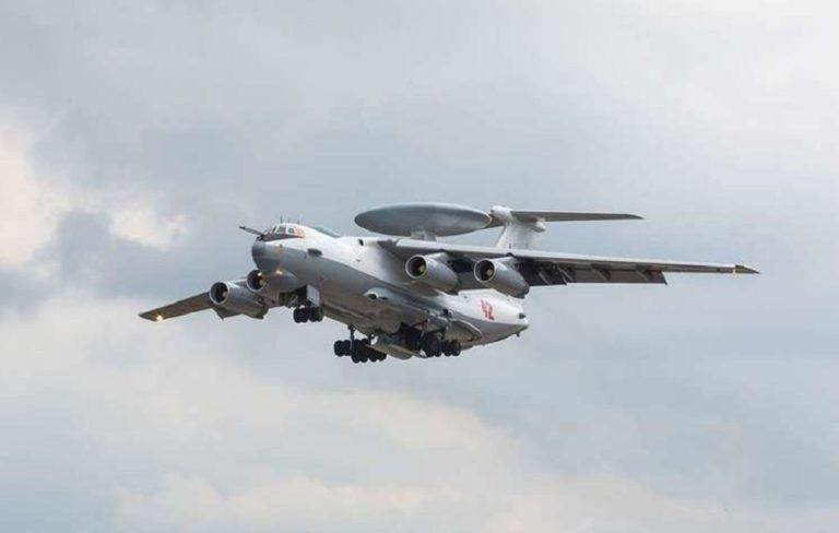 La Fuerza Aeroespacial de Rusia obtiene el sexto avión de vigilancia A-50U con radar mejorado