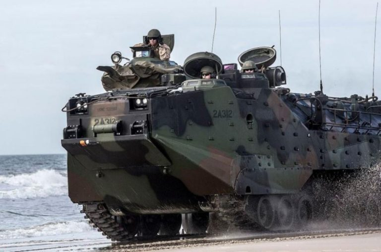 España adquirirá vehículos de asalto anfibio para la Infantería de Marina
