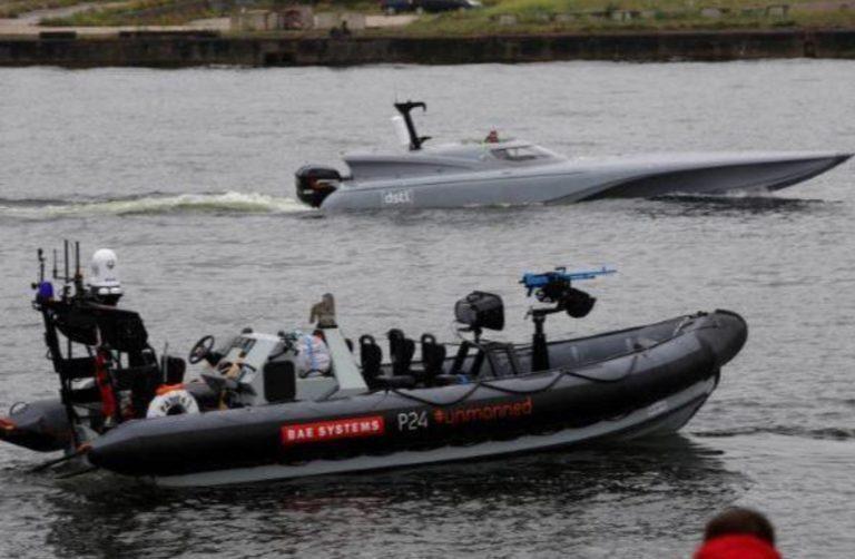 Gran Bretaña muestra su nuevo buque de superficie naval autónomo