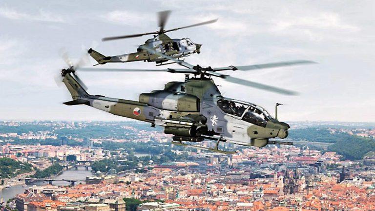 República Checa cerca de adquirir 12 helicópteros AH-1Z y UH-1Y