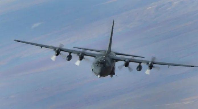 Estados Unidos está utilizando arma del AC-130 para eliminar objetivos fuera del agua