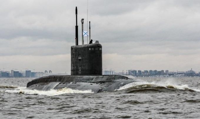 Submarino nuclear ruso en puesto en cuarentena por coronavirus