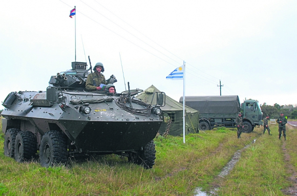 Fuerzas Armadas Uruguayas superan el millón de horas patrullando la frontera