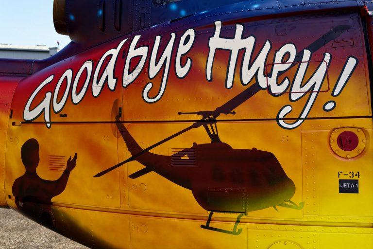 Una leyenda dimite – ¡Adiós Huey!