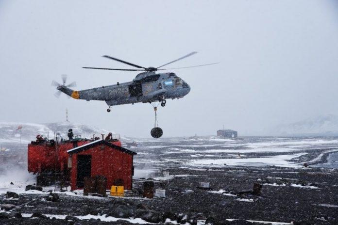 campaña antártica de verano