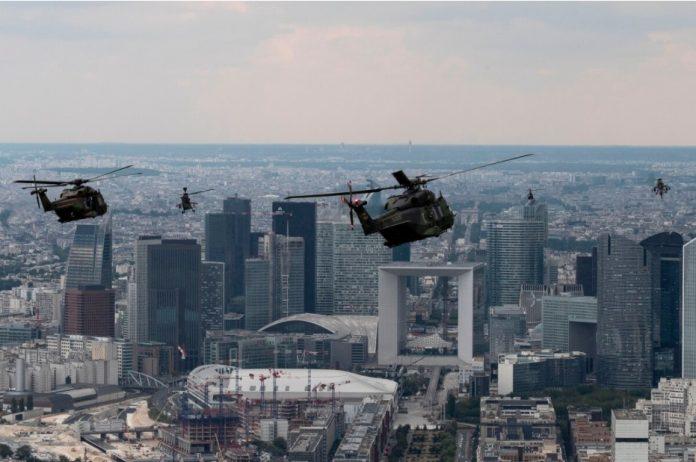 helicóptero otan